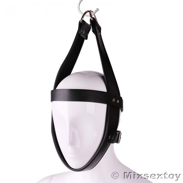 MIZZZEE BDSM Leather Headgear