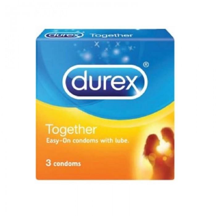 Durex Love Sex Together Con doms (3Pcs)