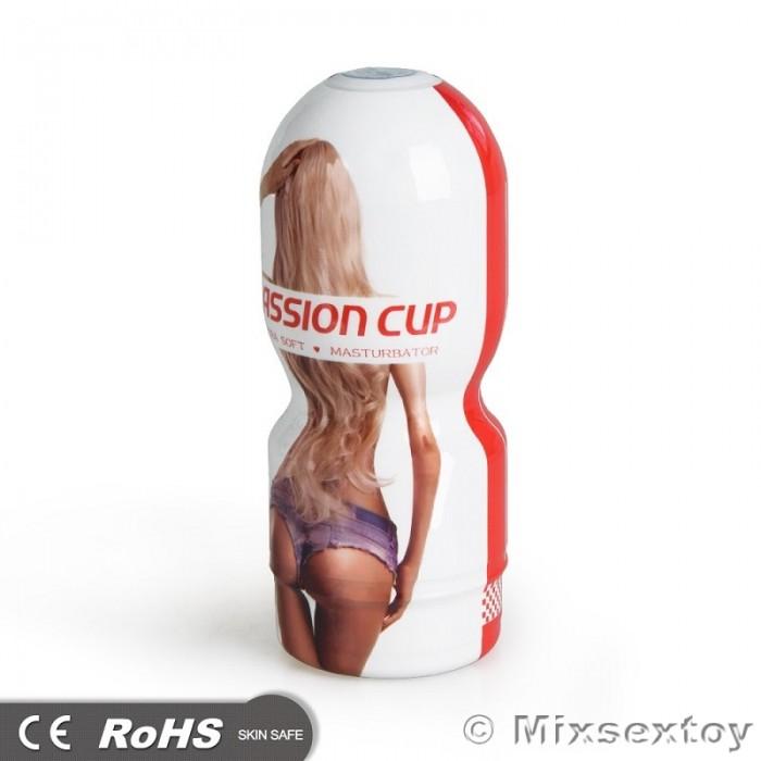 US - 4D Realistic Vagina Passion Masturbation Cup (Extra Soft)